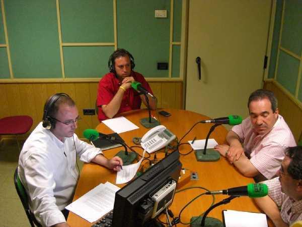 Juan Andrés Rejón, el Alcalde de Churriana, el Alcalde de Fuente Vaqueros y Alcalde de Jun