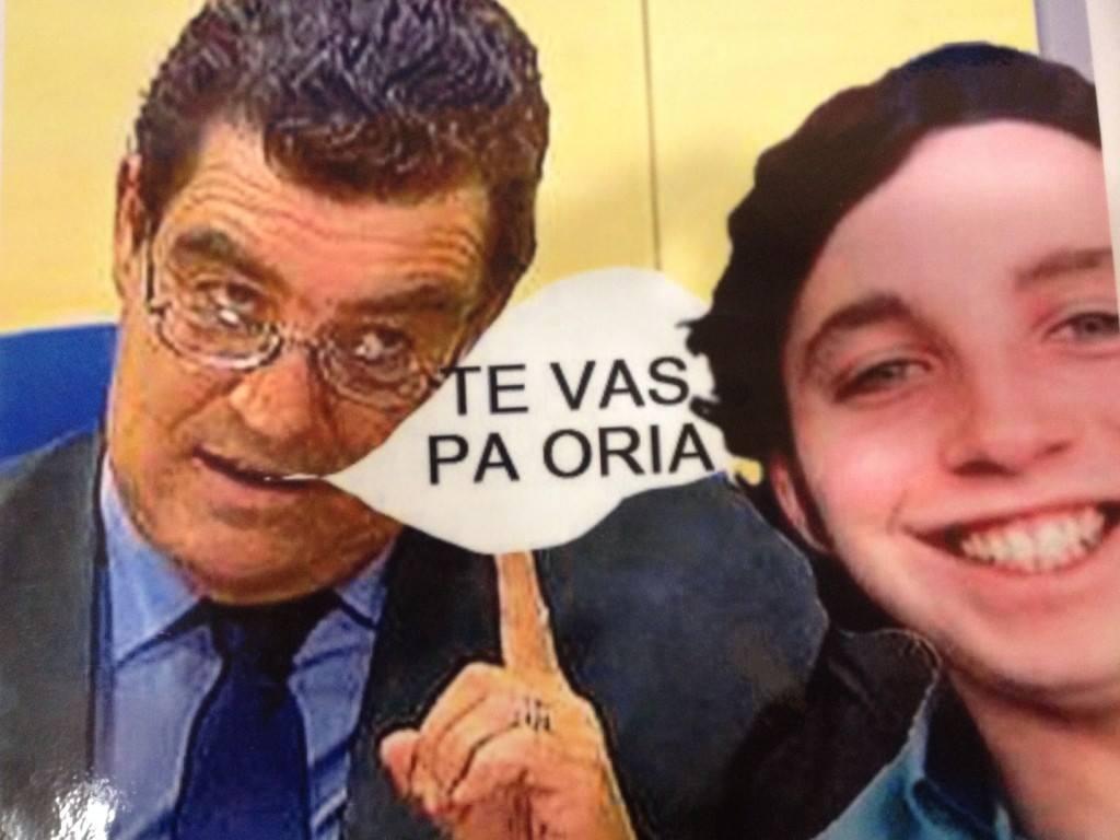 Una foto imposible, el juez Calatayud con el pequeño Nicolás