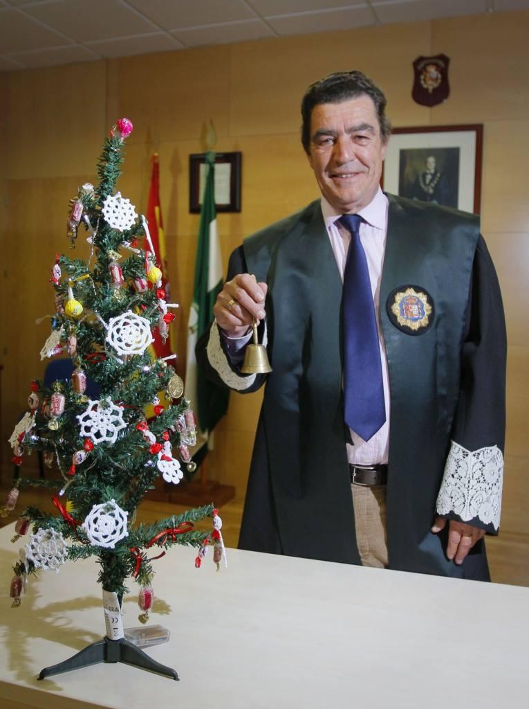 JUEZ EMILIO CALATAYUD.  FOTO: RAMÓN L. PEREZ