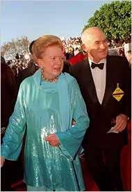 Peter Viertel y Deborah Kerr