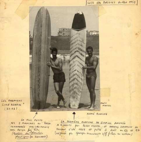 Viertel, introductor del surf en España