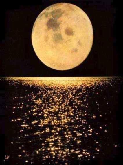 La luna, para enamorarse de ella