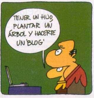 Hay que bloguear
