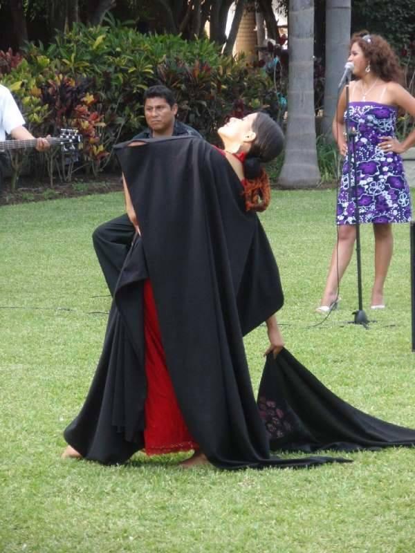Bailes típicos en la Hacienda Los Ficus, en los aledaños de Lima