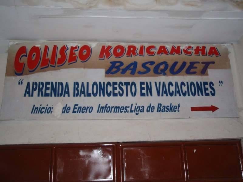 Tras lo de Los Angeles, si os digo que me han ofrecido trabajo en Cusco, no me creeréis...