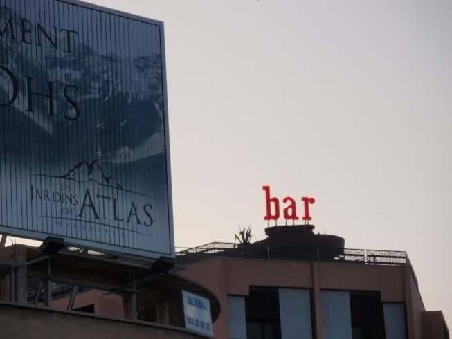 Un bar en el cielo de Marrakech