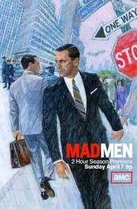 Poster Mad Men Sexta Temporada