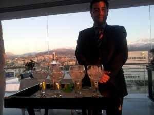 Daniel Castro at work