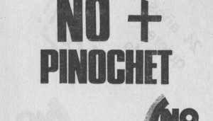 NO+Pinochet