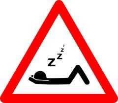 Dormir peligro