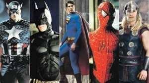 Superheroes variados