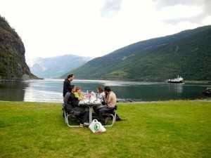 Viaje a Escandinavia almuerzo