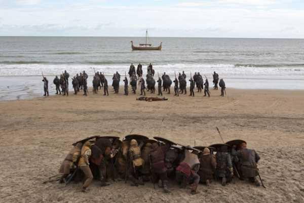 Los vikingos, con ganas de seguir viajando, parapetados y haciéndose fuertes frente a la realidad...