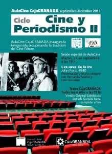 Flyer Cine y Periodismo cara