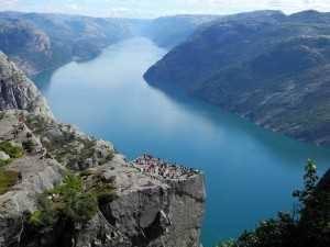 Viaje a Escandinavia Preikestolen general
