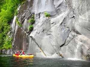 Viaje a Escandinavia kayac catarata