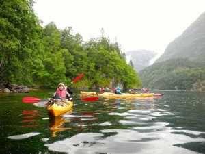 Viaje a Escandinavia kayac fiordos