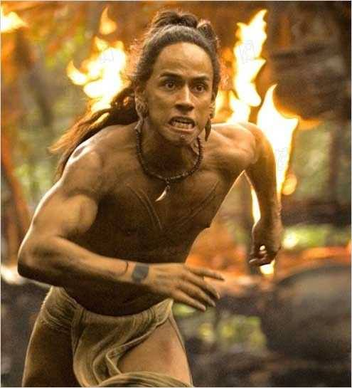Apocalypto 2007 Real : Mel Gibson Rudy Youngblood COLLECTION CHRISTOPHEL