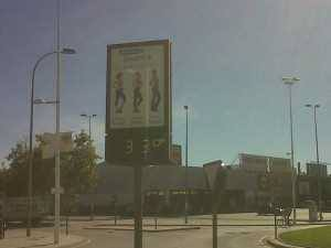 16 de octubre. Tarde. Avda. Fernando de los Ríos. Granada.