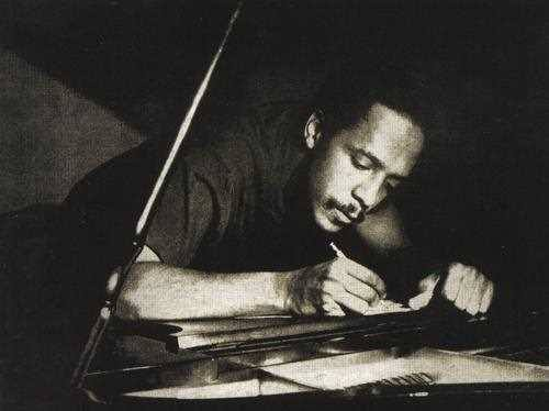 Bud Powell componiendo