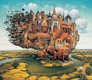Surrealismo ciudad