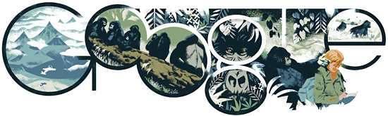 Dian Fossey Doodle
