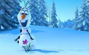 Frozen nieve