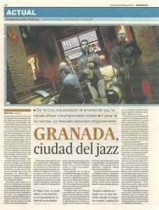 Granada ciudad de jazz I