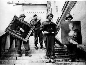 The Monuments Men cuadros