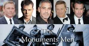 The Monuments Men mix
