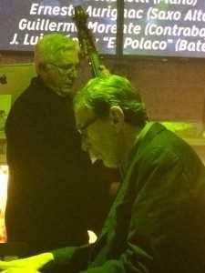 Guillermo Morente, en el Magic, con Vince Benedetti al piano
