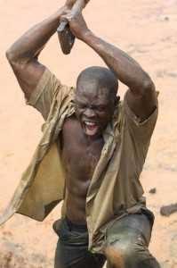 Cine africano diamante sangriento