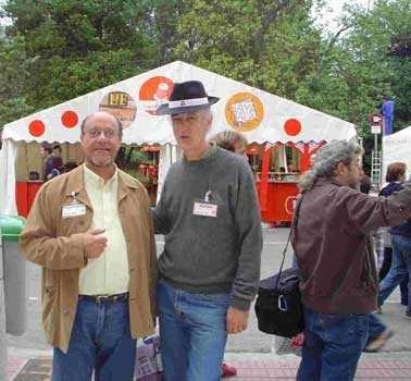 Justo Vasco y Guillermo Orsi, autores en la Nube Negra