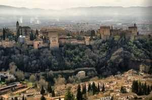 Running Urbano Alhambra Granada
