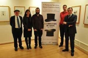 Entrega Premio Francisco Ayala Grupo