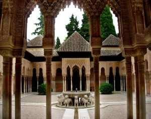 Granada es imposible Patio Leones