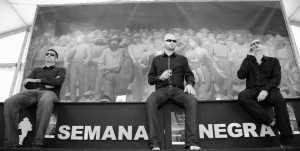 Homenaje a Borgnine. Foto: Master Ribeiro