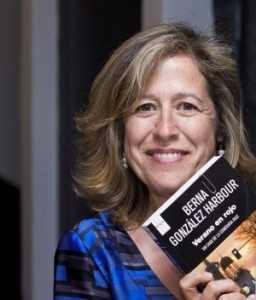 """26-7-2012------------- Presentación del libro """" Verano en rojo """" de la escritora Berna González Harbour en la librería Gil"""