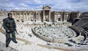 Palmira tomada