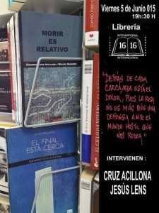 Diseño del cartel: Colin Bertholet Frase: Montero Glez