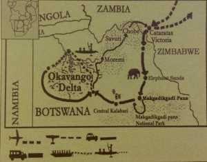 Okavango recorrido
