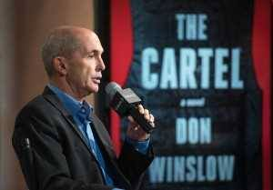 "NEW YORK, NY - JULY 16:  Author Don Winslow discusses his book ""Cartel"" during the AOL BUILD Speaker Series at AOL Studios In New York on July 16, 2015 in New York City.  (Photo by Mike Pont/WireImage)"