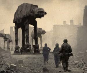 Historical photos Star Wars 2