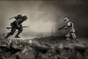 Historical photos Star Wars 4