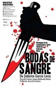 Escenarios Granada Noir Bodas de sangre