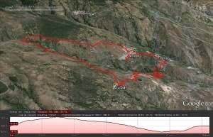 Trail Nevada Perfil y Distancia