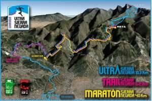 Ultra Trail recorrido