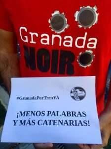 Granada Noir por el tren a Granada