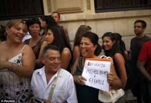 michelle obama Bienvenida