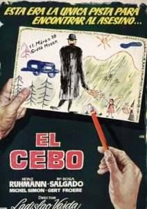 ·Original Title: ES GESCHAH AM HELLICHTEN TAG ·English Title: IT HAPPENED IN BROAD DAYLIGHT ·Spanish Title: CEBO, EL ·Film Director: VAJDA, LADISLAO ·Year: 1958